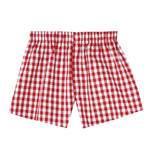 Pj-s Boxers Red Gingham