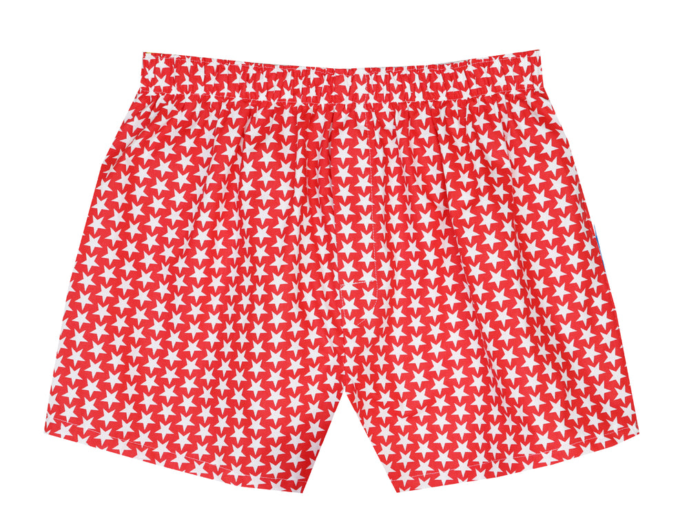 Boxers Red Stars