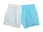 Girls Aqua  Stars  Shorts