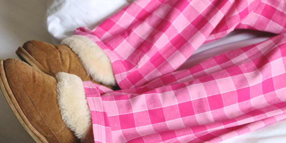 PJ-s Brushed Cotton Pyjama bottoms