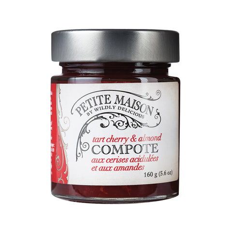 Tart Cherry & Almond Compote