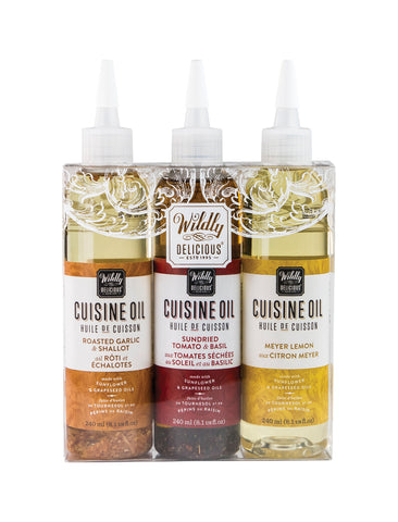 Cuisine Oil Trio Set