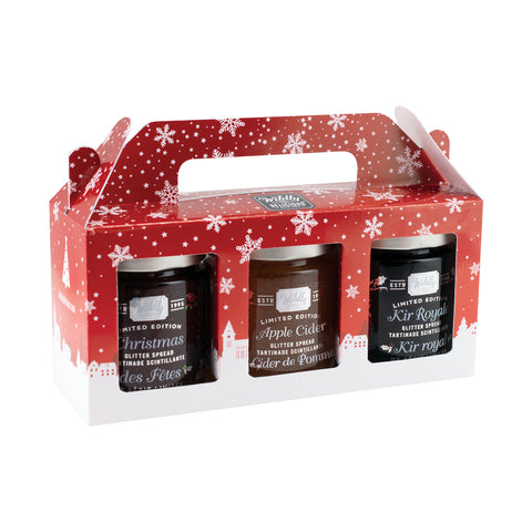 Glitter Spread Trio Set - Limited Edition for the Holidays