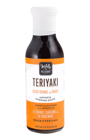 Teriyaki, Blood Orange & Ginger, Japanese Cooking Sauce