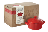 Cocotte Set - Red