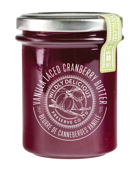 Vanilla Laced Cranberry Butter