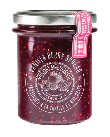 Vanilla Berry Spread