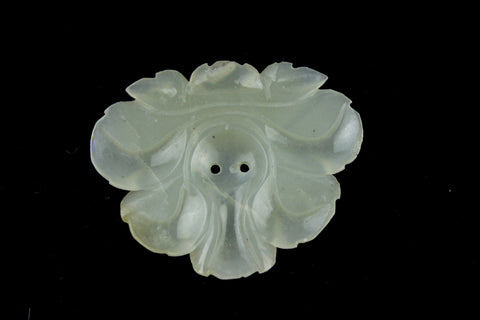 White Jade Mirror Symmetry Flower