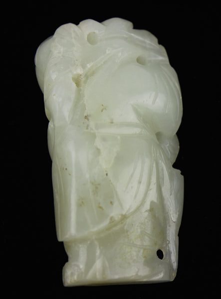 White Jade Wise Man Toggle