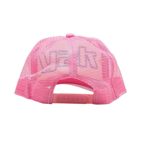 y2k Trucker Hat (Pink/White)