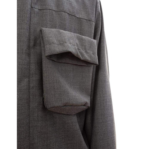 Grey Patch Pocket Jacket