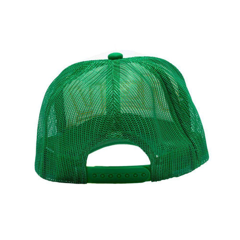 y2k Trucker Hat (Green/White)