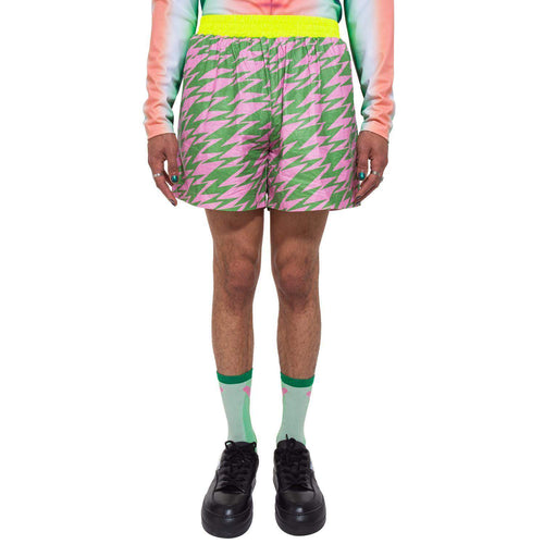 Lightning Basic Shorts (Pink/Green)