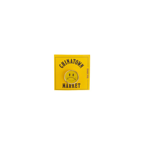 Chinatown Market Lenticular Smiley Face Pin
