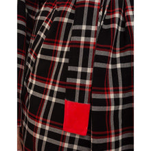 Undercover Plaid Trench Coat