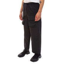 Black Patch Pocket Pants