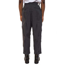 Grey Stripe Pant