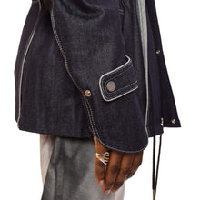 Denim Layered Field Jacket