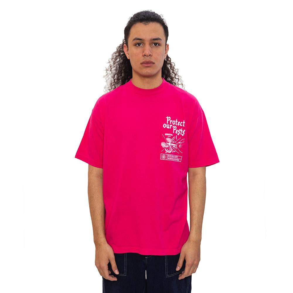 Pests T-Shirt Fuschia