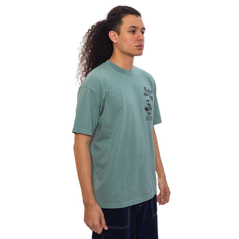 Pests T-Shirt Atlantic Green