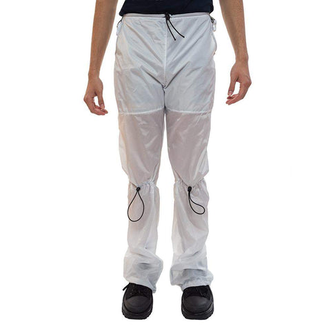White Nylon Pants