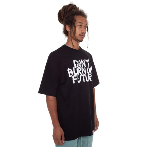 Don't Burn Our Future T-shirt [Black]