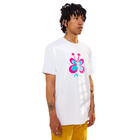 Toon Butterfly Tee (White)