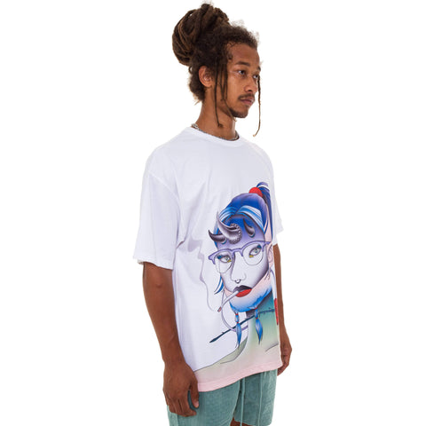 Perfect Blue Face T-Shirt