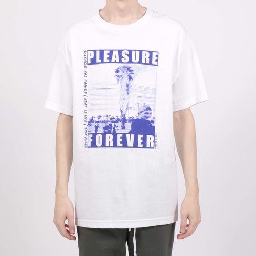 Pleasure Forever White T