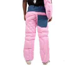 Pink Puffer Pants