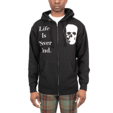 Life Is Never Kind Zip Up Hoodie