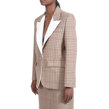 RUBIK CHECKED BOYFRIEND BLAZER