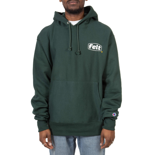 WORK LOGO SWEATSHIRT IN FOREST