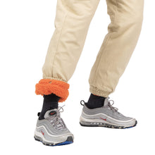 Bryce Barnes Tan Canvas Pants w/ Orange Sherpa Interchangeable Lining