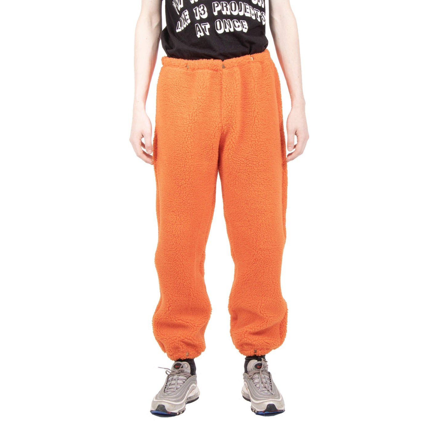 Bryce Barnes Orange Sherpa Pants