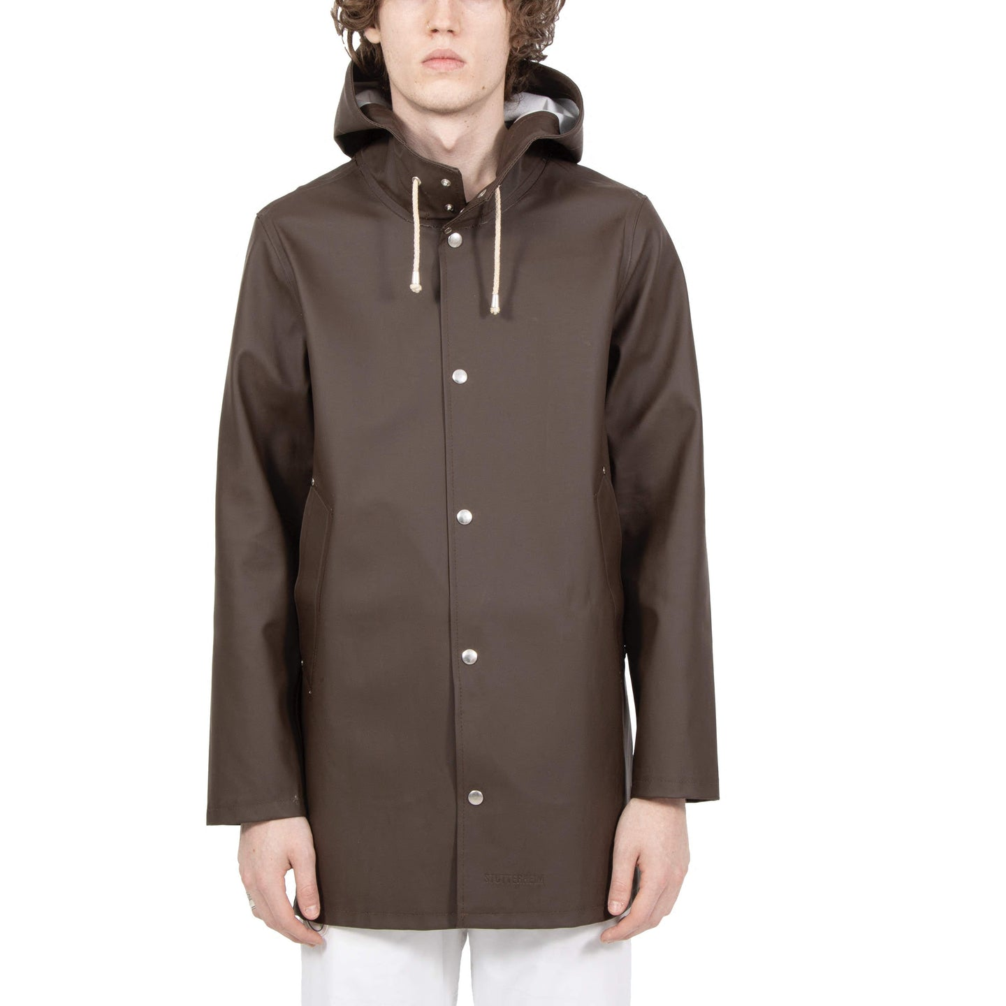 Stutterheim Stockholm Brown Raincoat