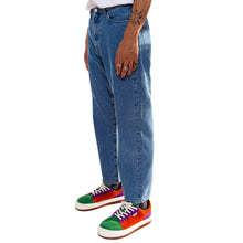 Washed Denim Classic Pants