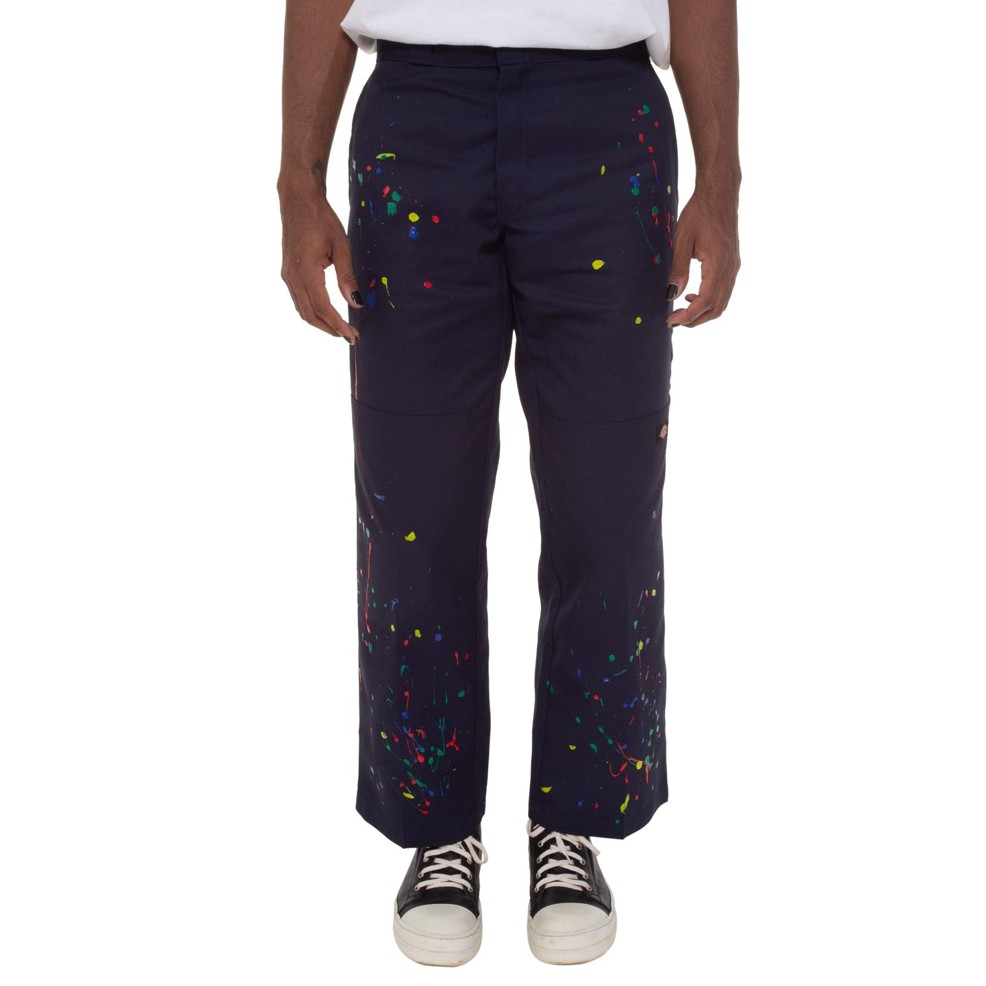 Paint Splatter Work Pants