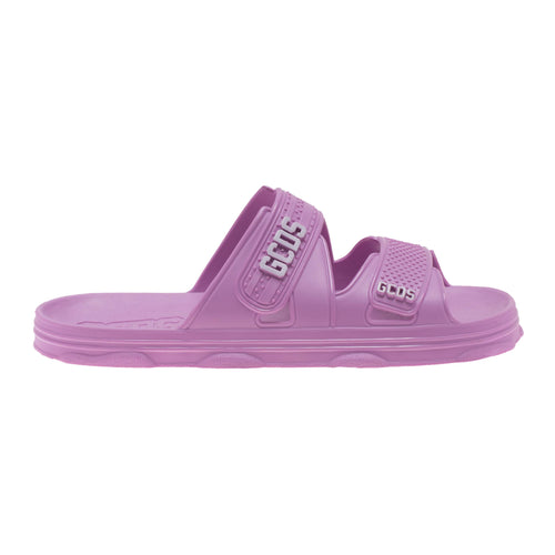 Pink Fluo Rubber Sandals