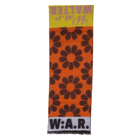 W:A.R. Scarf Single Yellow/Pink