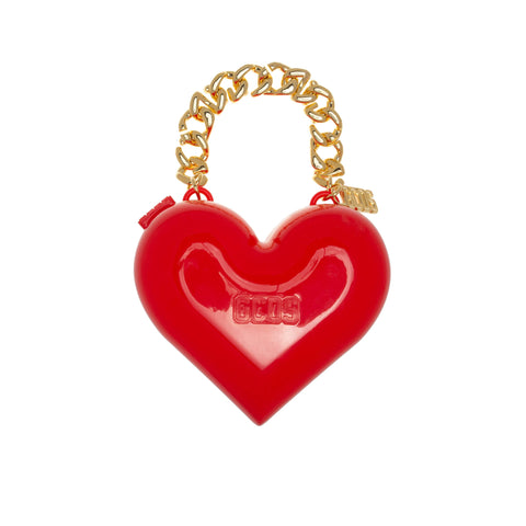 RED MUSE HEART BAG