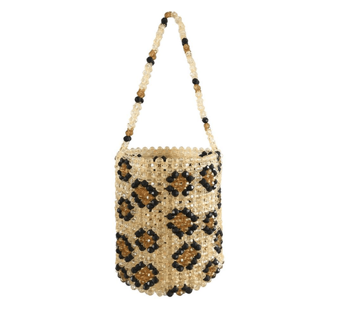 Leopard Bucket Bag