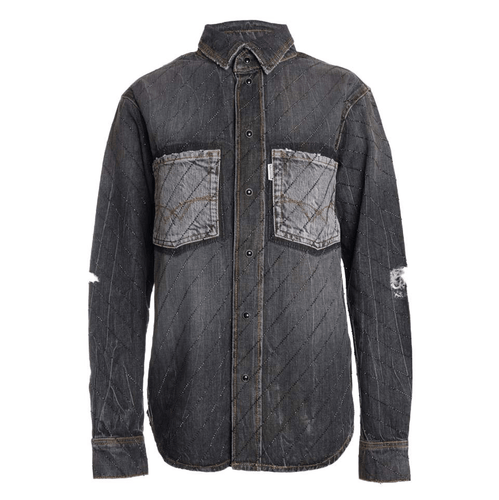ADAM CRYSTAL DENIM SHIRT