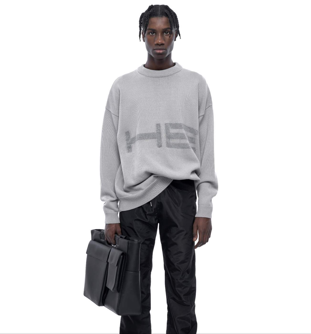 Oversized Reflective Sweater