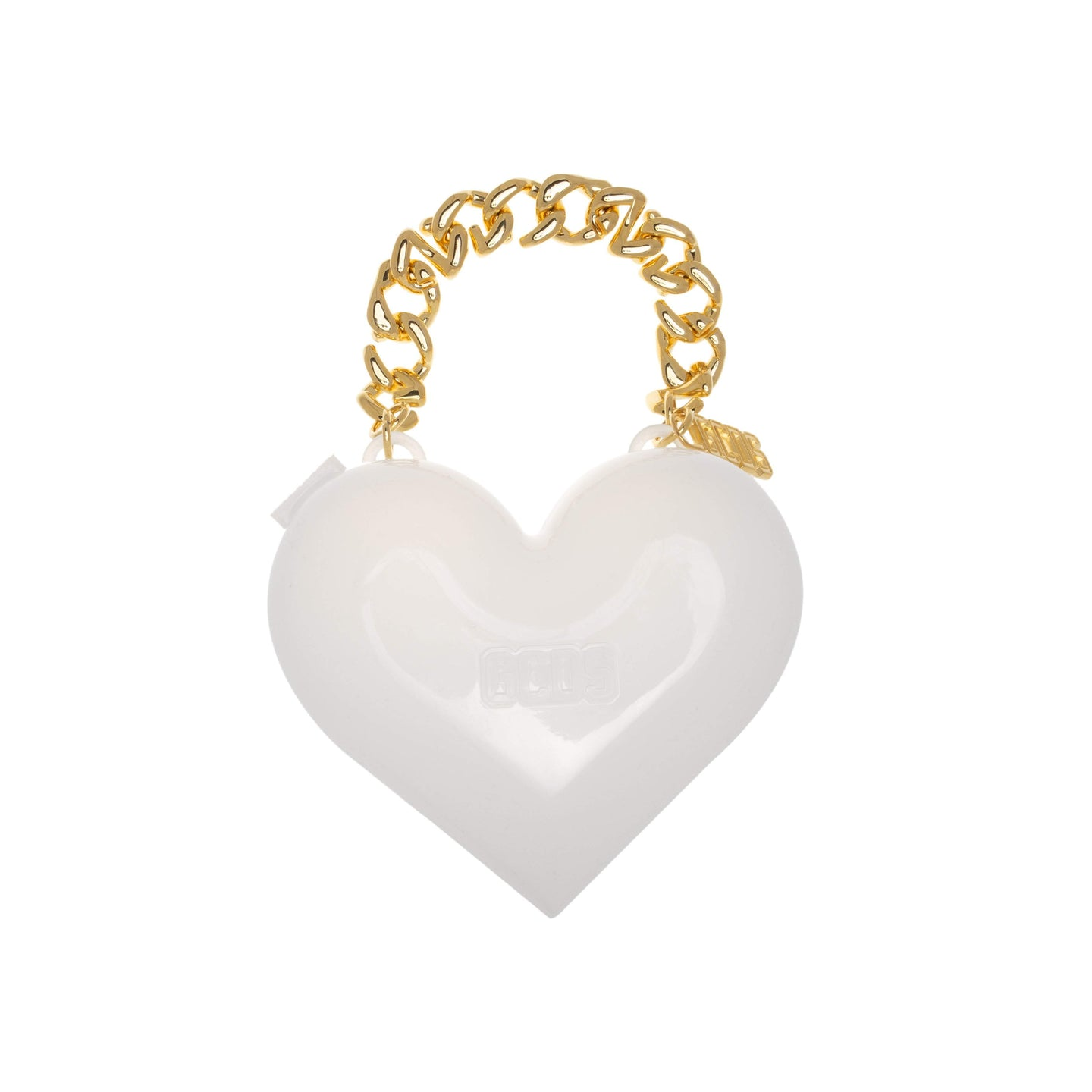 WHITE MUSE HEART BAG