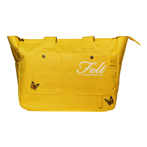 Outside Butterfly Bag (Yellow)