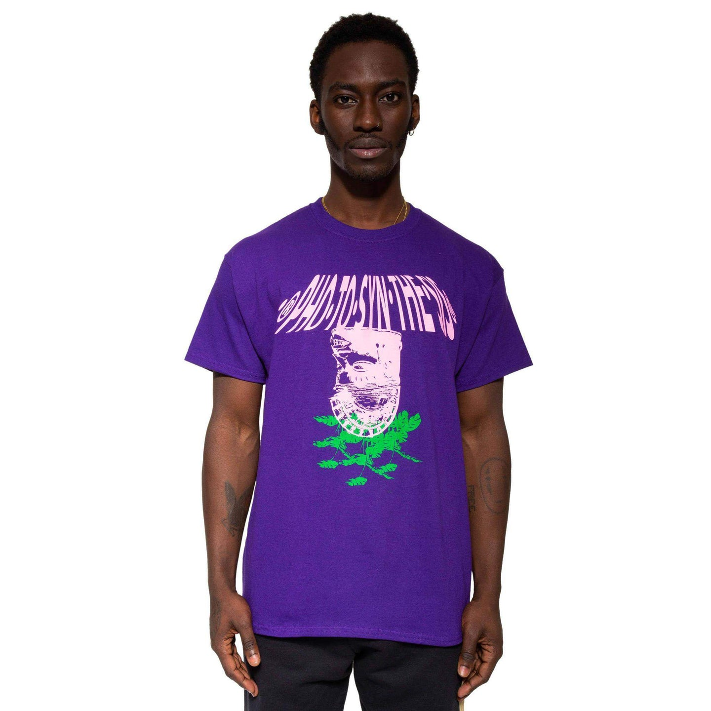 Photosynthesis Tee Purple