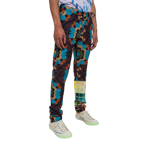 Power Flower Sharp Trousers