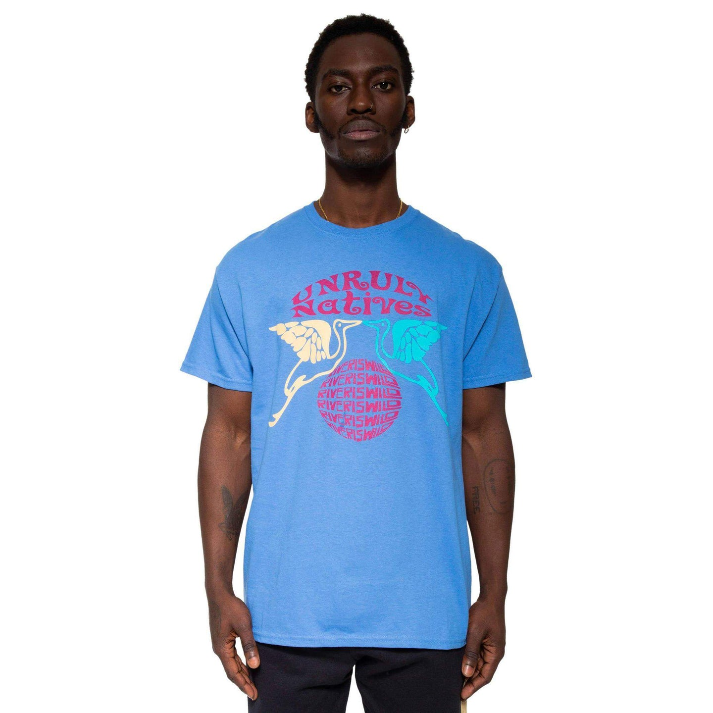 Unruly Tee Blue