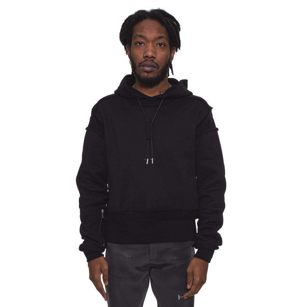 Cropped Hoodie W/ Layers